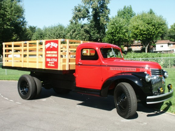 1946 Chevy Truck Bed