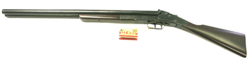 Dasiy Model 104 Double Barrel BB Gun, wood stock