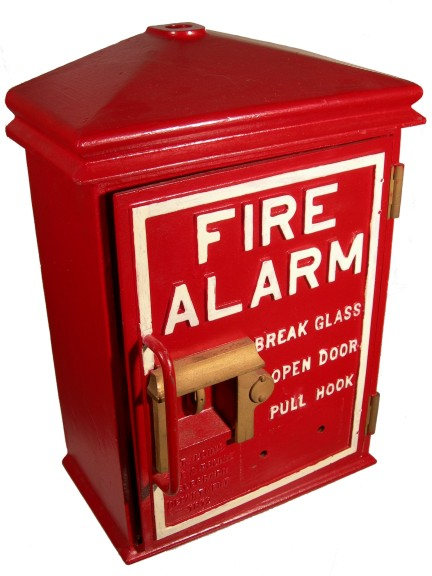 Fire Alarm Box St Louis F D 1912