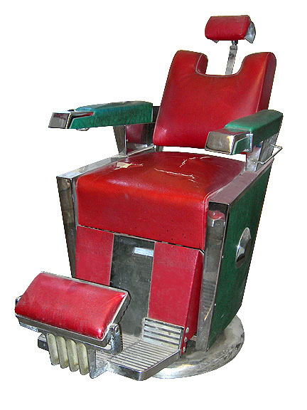 Theo A. Kochs Barber Chair