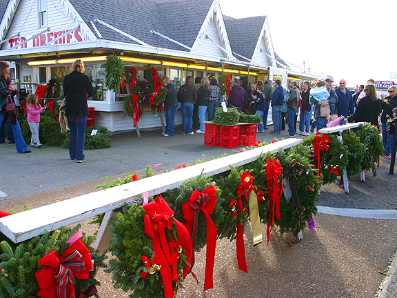 Ted Drewes Christmas Trees